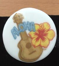 Aloha Birchcroft China Button