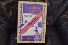 Lockheed Air Express Old Style Beer (Heilemans) Die Cast Metal Plane NIB
