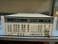 HP 8644B SYNTHESIZED GENERATOR