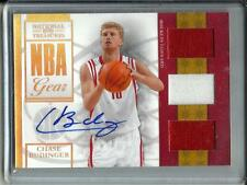 Chase Budinger 09/10 National Treasures Autograph Game Used Jersey RC #09/30
