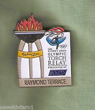 RAYMOND  TERRACE  2000 OLYMPIC AMP TORCH RELAY PIN