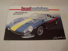 JOUEF EVOLUTION '91 CATALOG FERRARI P4, 250 GTO, GTO EVO, 1/43 1/24 1/18 SCALES