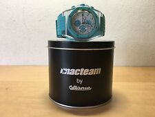 Used Reloj Watch MACTEAM by Altanus - Chronograph Turquoise Rubber - NOT WORKING