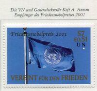19448) UNITED NATIONS (Vienna) 2001 MNH** Nuovi** Nobel