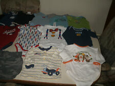 Boys 19 piece onesie mixed lot size 6-9 months