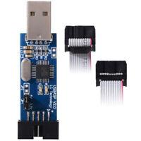 10 Pin Cable  USB ATMEGA8 ATMEGA128 USBASP USBISP AVR Programmer Adapter ATF