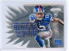 "2014 PRIZM #BH12 ODELL BECKHAM JR. ""BELIEVE THE HYPE"" ROOKIE RC, GIANTS, 072615A"