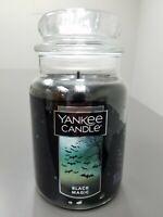 Yankee Candle - BLACK MAGIC - 22 oz Large Jar Candle - HALLOWEEN RETIRED NEW HTF
