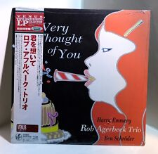 Rob Agerbeek Trio The Very Thought Of You 200-gram VINYL LP Sealed JAPAN Venus