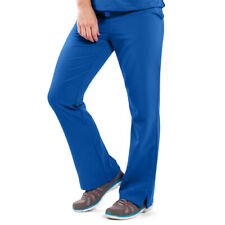 Women's Medical Scrub Pants, Drawstring and Elastic Waist, Great for Nurses, 3XL