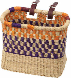 House of Talents Square Bike Front Basket: Assorted Colors