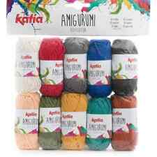 Katia ::Amigurumi #S05:: 100% cotton 10 skeins by 10 g each
