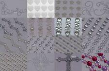 1 x Rhinestone Diamante Stick on Self Adhesive Gems Wedding Embellishments Strip