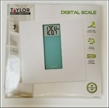 Taylor Digital Glass Scale White