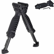 Useful Tactical Vertical Fore Hand Grip Bipod Picatinny Rail Rifle Weaver