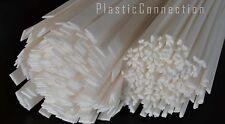 L'HDPE plastica di saldatura BACCHETTE inalazione Bianco Mix 10pcs. Automotive, industrie dell' acqua