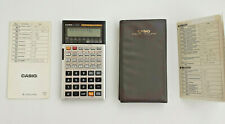Vintage Casio fx-5000F Scientific Formula 128 Electronic Calculator Manual Rare