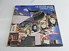 The Moody Blues Caught Live +5 LP 1977 London Gatefold Double Vinyl Record