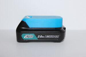 Blue battery holder / cover for Makita BL1015, Bl1020B, BL1040B 10.8V