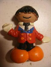 Vintage Figurine Ancienne 1979 PVC SCHLEICH 6cm Les BUBBLIES Clown 6cm RARE
