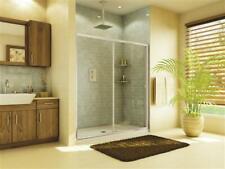"Fleurco Eal 2-60-25-50 Banyo Amalfi Semi frameless Sliding Shower doors 60x75"""