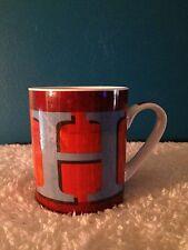 """Pier 1 """"H"""" Porcelain Coffee/Tea Mug"""