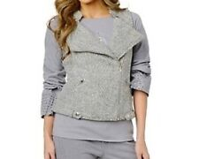 Randolph Duke SPIRITED Zippered Motorcycle Style Vest $44.90 GRAY 1X New w/ Tags