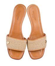 Designer Shoes ERIC JAVITS Sandals, Tan, 38 EUR / 8 US, (was 330)
