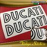 DUCATI Monster adesivi Bicolore old Nero interno bianco