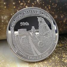 50th 11 Moon Armstrong Landing Anniversary Apollo Commemorative Coin  Art Gift