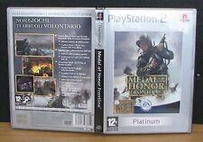 MEDAL OF HONOR FRONTLINE - PS2 - PlayStation 2 - PAL - Italiano - Usato