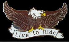 LIVE TO RIDE EAGLE BELT BUCKLES MOTORCYCLE BIKERS EAGLES COOL BUCKLE