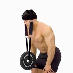 Head And Neck Weight Lifting Grip Bearing Cap Shoulder Muscle Training Plate New