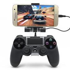 PS4 Controller Handy Halterung Smartphone Gamepad Halter 6 Zoll 180° + OTG Kabel