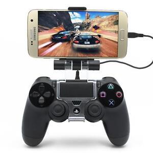PS4 Controller Handy Halterung Smartphone Gamepad Halter 6 Zoll 180° OTG