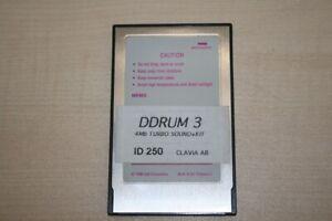 D-Drum 3 Flash Card ID 250 4MB Turbosound+Kit gebraucht