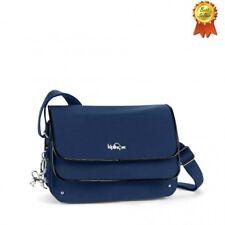 KIPLING Bag Borsa tracolla Peaches blu e nero 24x17x11 cm - sconto 50% € 80