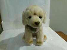 FAO Schwarz 2018 dog plush animal stuffed w paper collar tag puppy