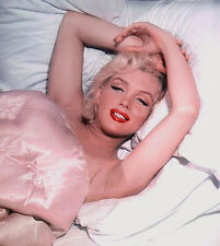 MARILYN MONROE  LIPSTICKED BEAUTY IN BED  (1) RARE 4x6 GalleryQuality PHOTO