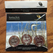 2015 Bombay Hook NWR Three-Coin 3-Coin Set America Mint Set NF8 ATB Quarter