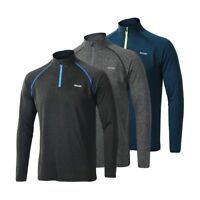 Men's Running T Shirts Tee Active Long Sleeves Quick Dry Training Jersey