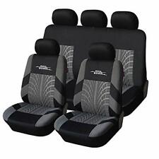 Car Seat Covers Universal Fit Full Set Car Seat Protectors Tire Tracks Car Seat