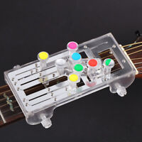 Guitar Chord Trainer Learning System Teaching Practrice Aid Tool Accessory X1K3