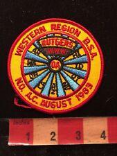 Vtg 1983 Western Region Rutgers WWW OA Boy Scouts Patch N.O. A.C. 86N6