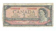 Canada - 1954, Two (2) Dollars Star Replacement !