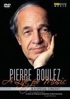 Pierre Boulez: A Life for Music DVD (2018) Reiner E. Moritz cert E 2 discs