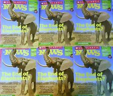 6 ISSUES SCHOLASTIC NEWS MAGAZINE APRIL 2014 PROTECT ELEPHANTS IN DANGER GRADE 3