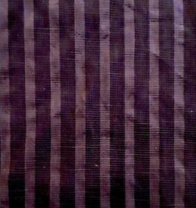 Vintage Kravet Eggplant Purple Ribbed Velvet Upholstery Fabric- 4 yards