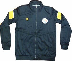 Pittsburgh Steelers Youth Outerstuff Team Apparel Track Jacket Boys 8-20 $55.00