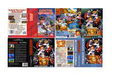 Gunstar Heroes Sega Mega Drive PAL Replacement Box Art Case Insert Cover Scan